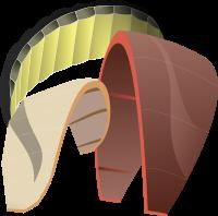 Unterschiedliche Kites